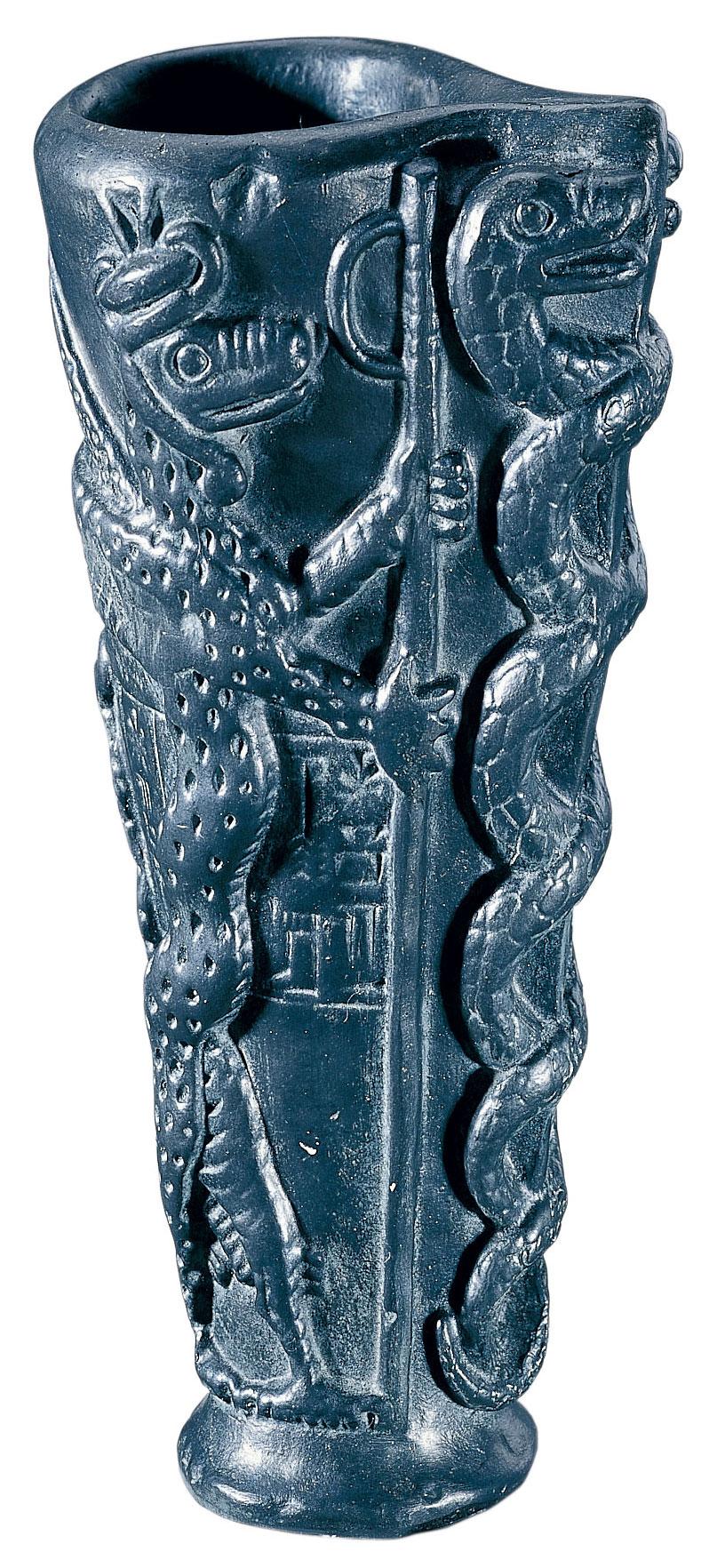 Königlicher Opferbecher von Lagasch, Kunstguss