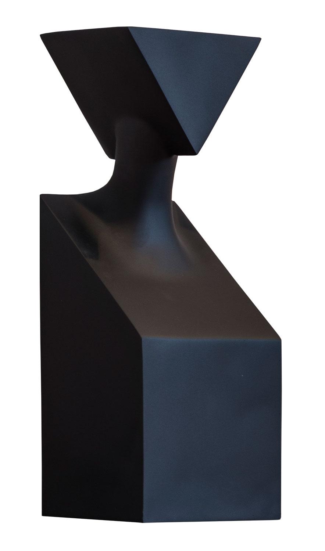 "Skulptur ""The Muses Thalia"", Version in Kunstguss schwarz"