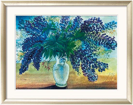"""Bild """"Blumenstrauß"""" (2001), gerahmt"""