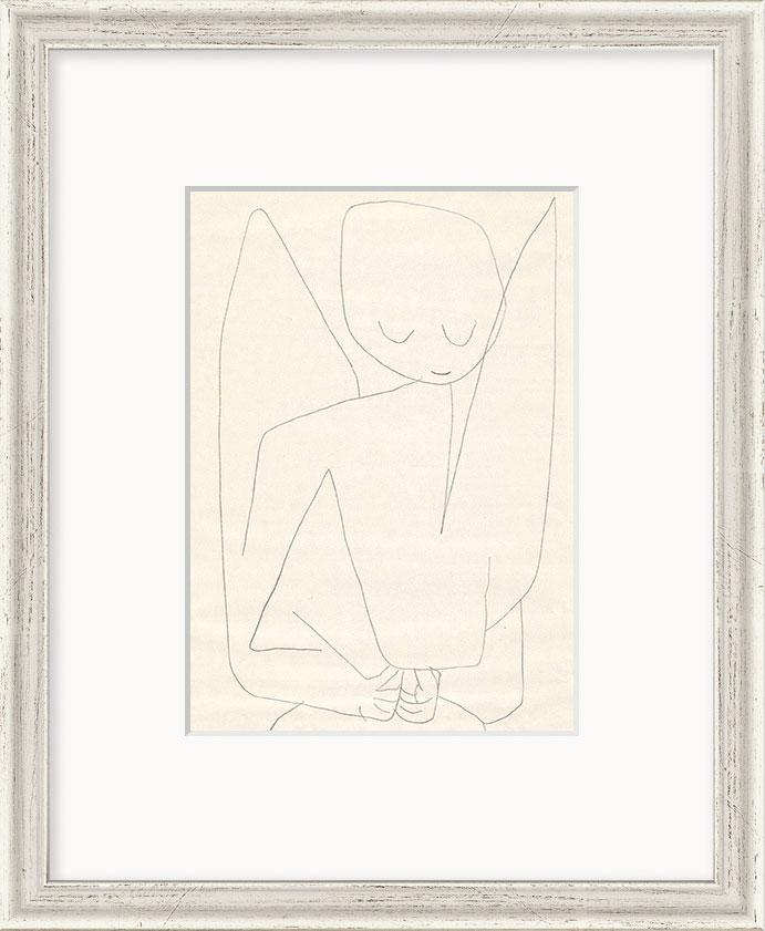 """Bild """"Vergesslicher Engel"""" (1939), gerahmt"""