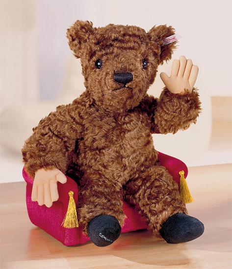 """Steiff-Jahresteddy 2003 """"Der Mensch im Bären"""""""