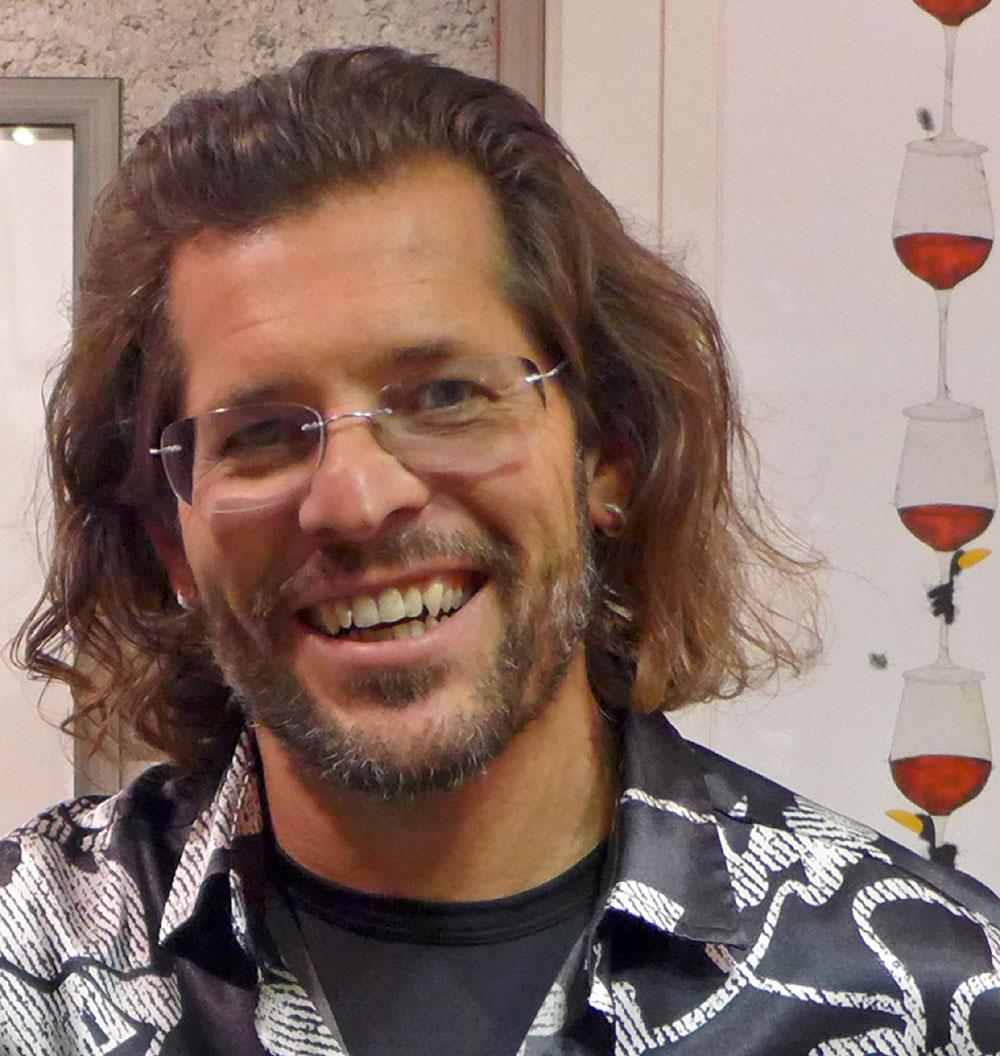 Porträt des Künstlers Michael Ferner