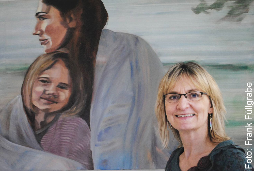 Die Lüneburger Künstlerin Anja Struck