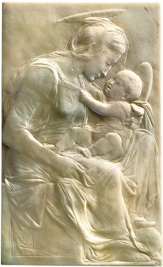 Toskanische Madonna mit Kind