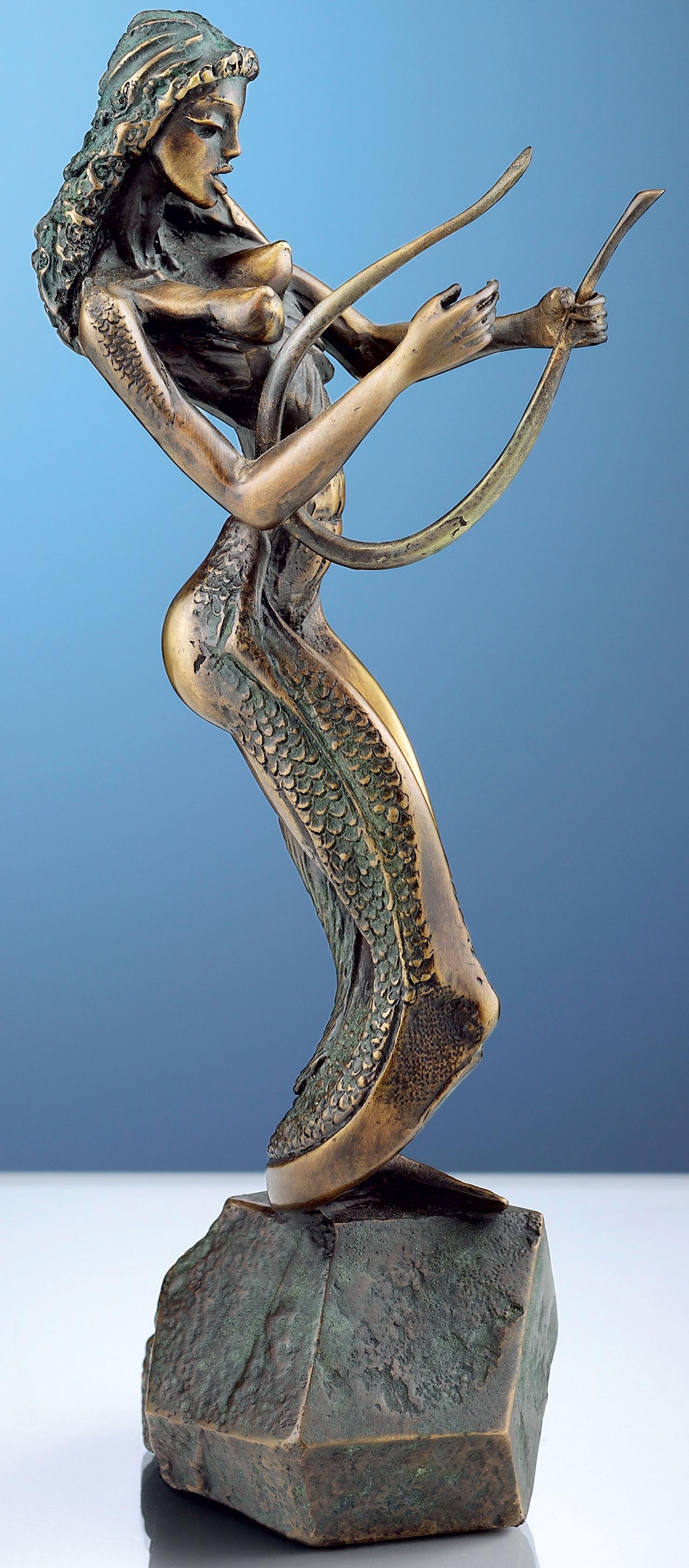"Skulptur ""Vision am See"", Bronze"