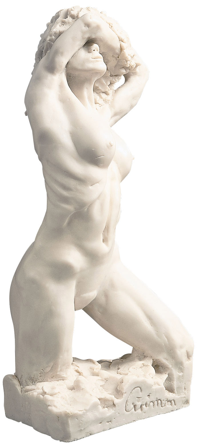 "Skulptur ""Eva 2000"" (1995), Version in Kunstmarmor"