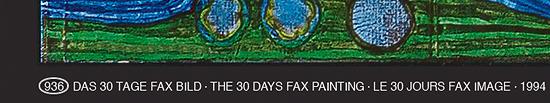 """Bild """"(936) Das 30 Tage Fax"""", gerahmt"""