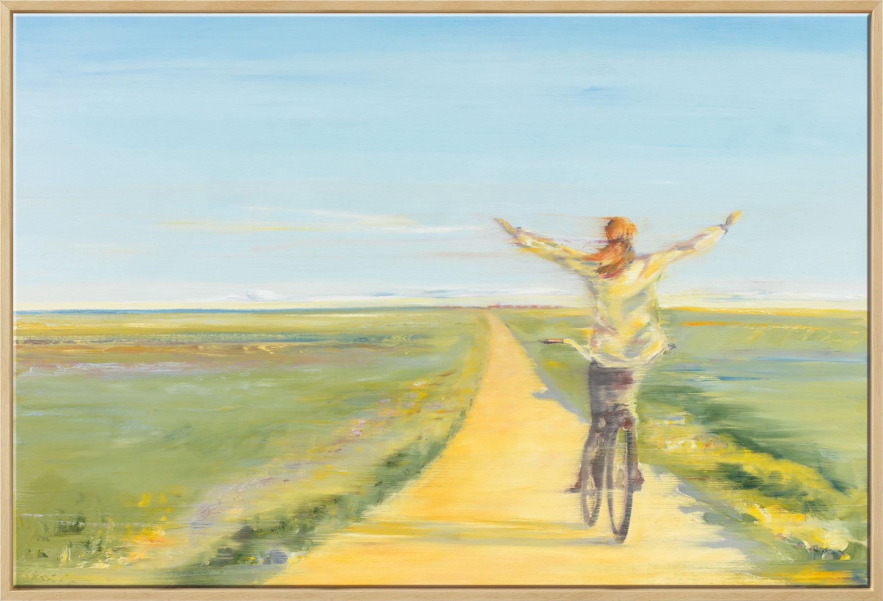 """Bild """"Frei wie der Wind"""" (2020), gerahmt"""