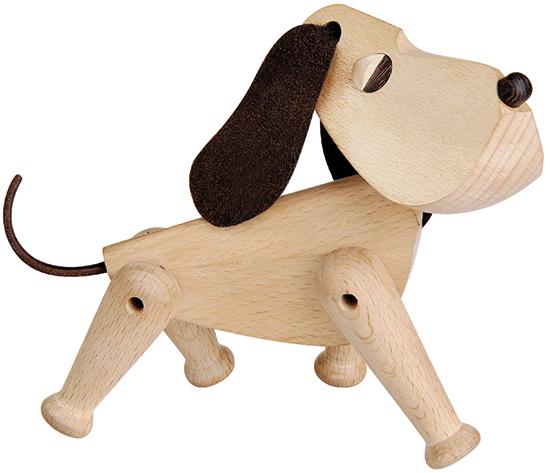 "Holzfigur ""Hund Oscar"" - Design Hans Bolling"