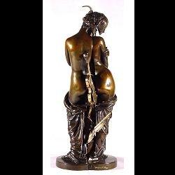 """Skulptur """"Promesse de Bonheur"""" (1993), Bronze"""