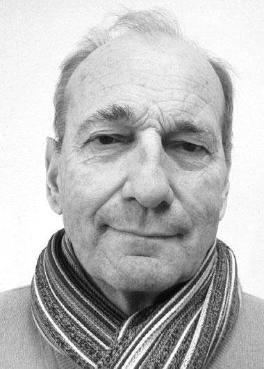 Porträt des Künstlers Hans Rabanser
