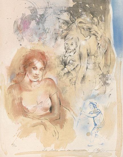 """Bild """"Die Sache mit den Kindern"""" (2002), ungerahmt"""