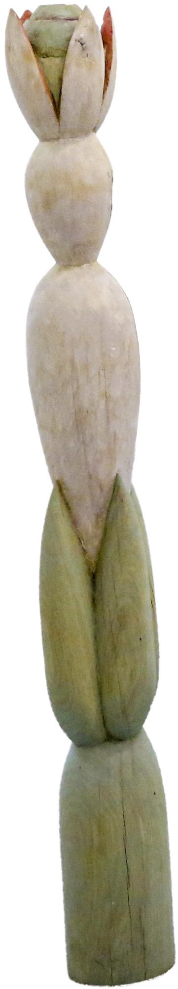 """Skulptur """"Ferne Nähe - I"""" (2011) (Unikat), Holz"""