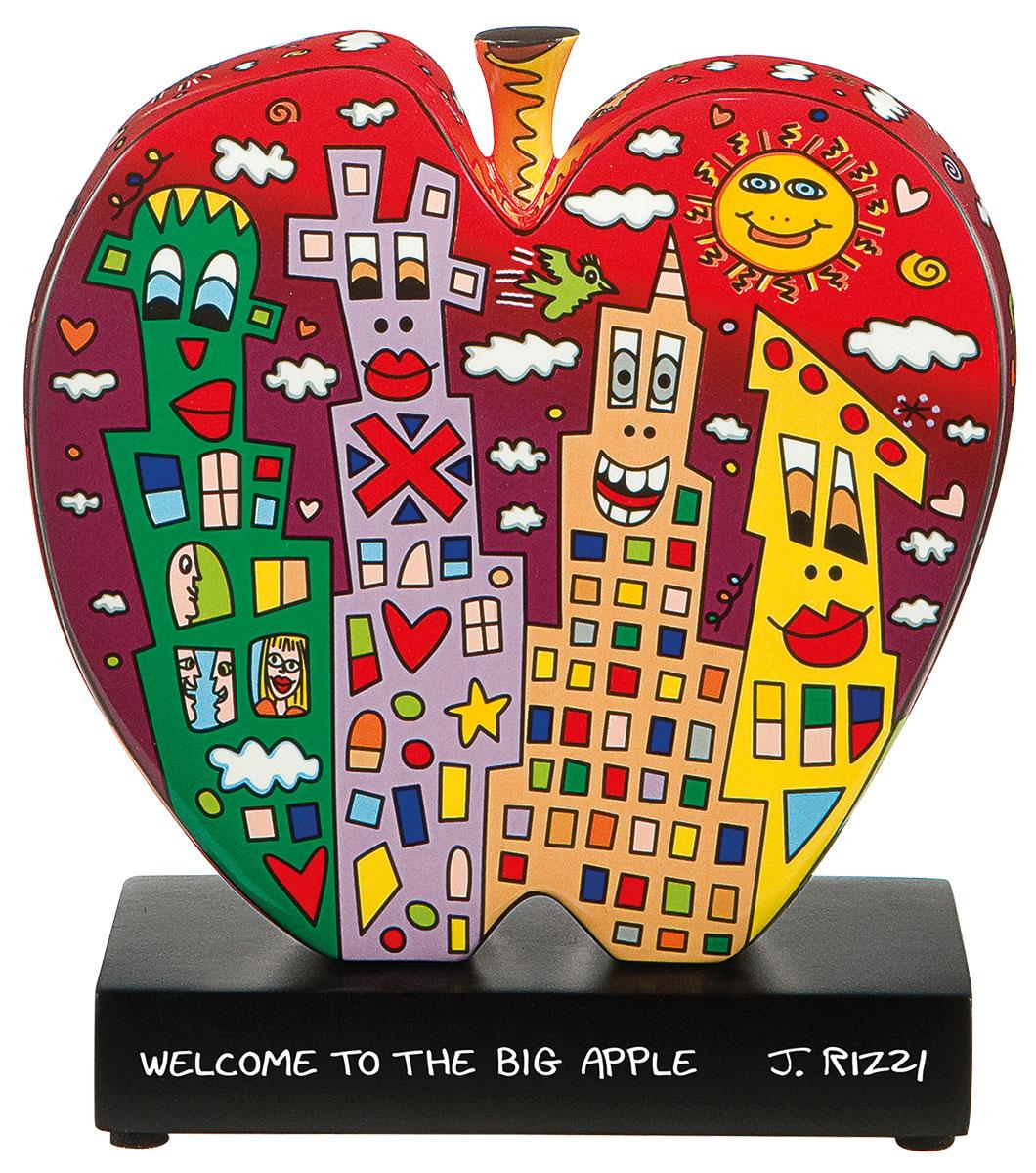 "Porzellanobjekt ""Welcome to the big apple"""