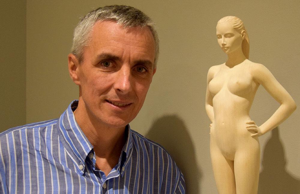 Porträt des Künstlers Richard Senoner