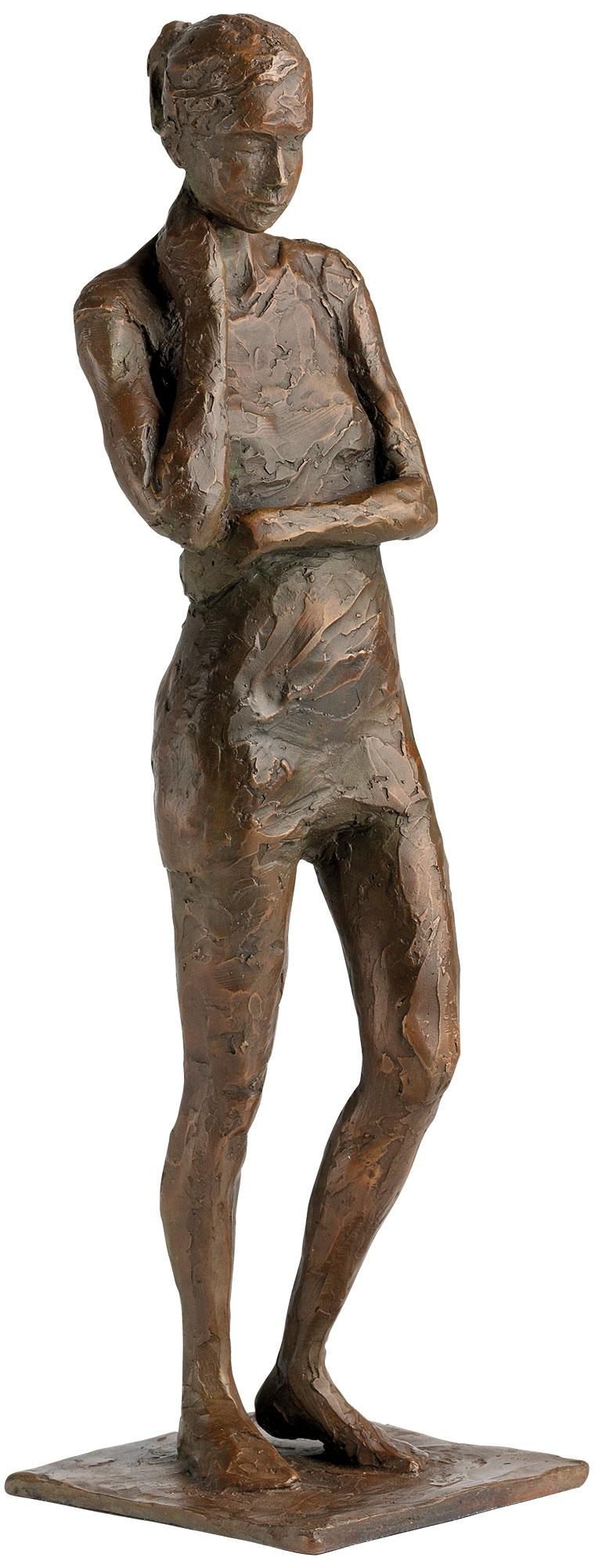 """Skulptur """"Besinnung"""", Bronze"""