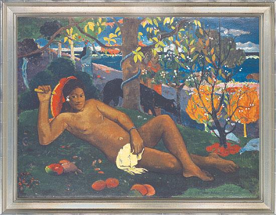 "Bild ""Die Frau des Königs"" (1896), gerahmt"