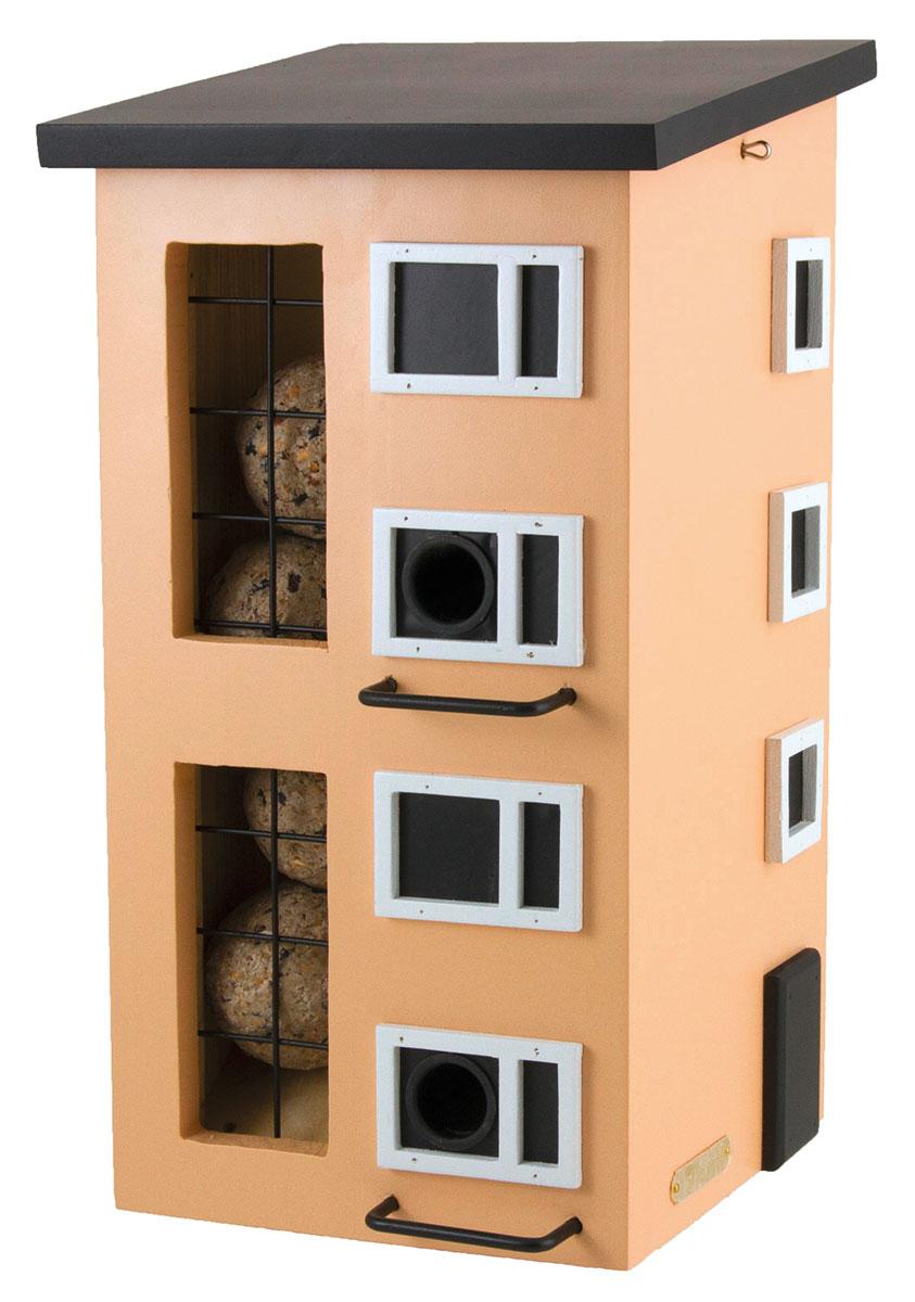 """Vogelhaus """"50er Jahre"""" aus Holz, braun"""