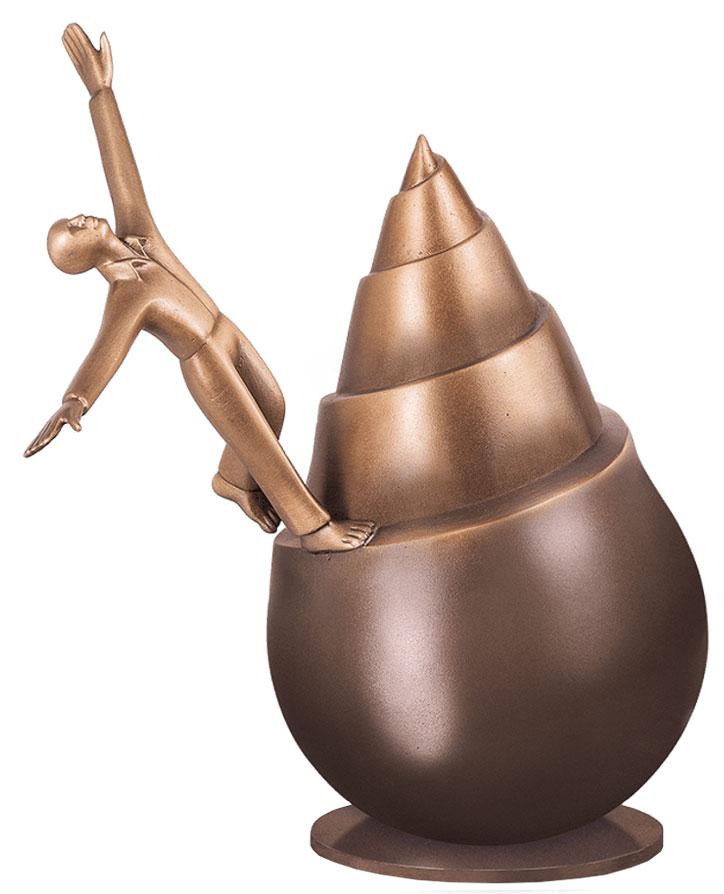 """Skulptur """"Infinity"""", Bronze"""