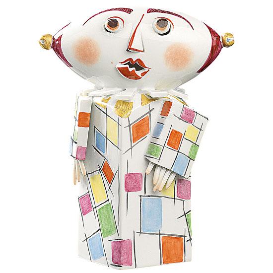"Skulptur ""Clown"", Porzellan"