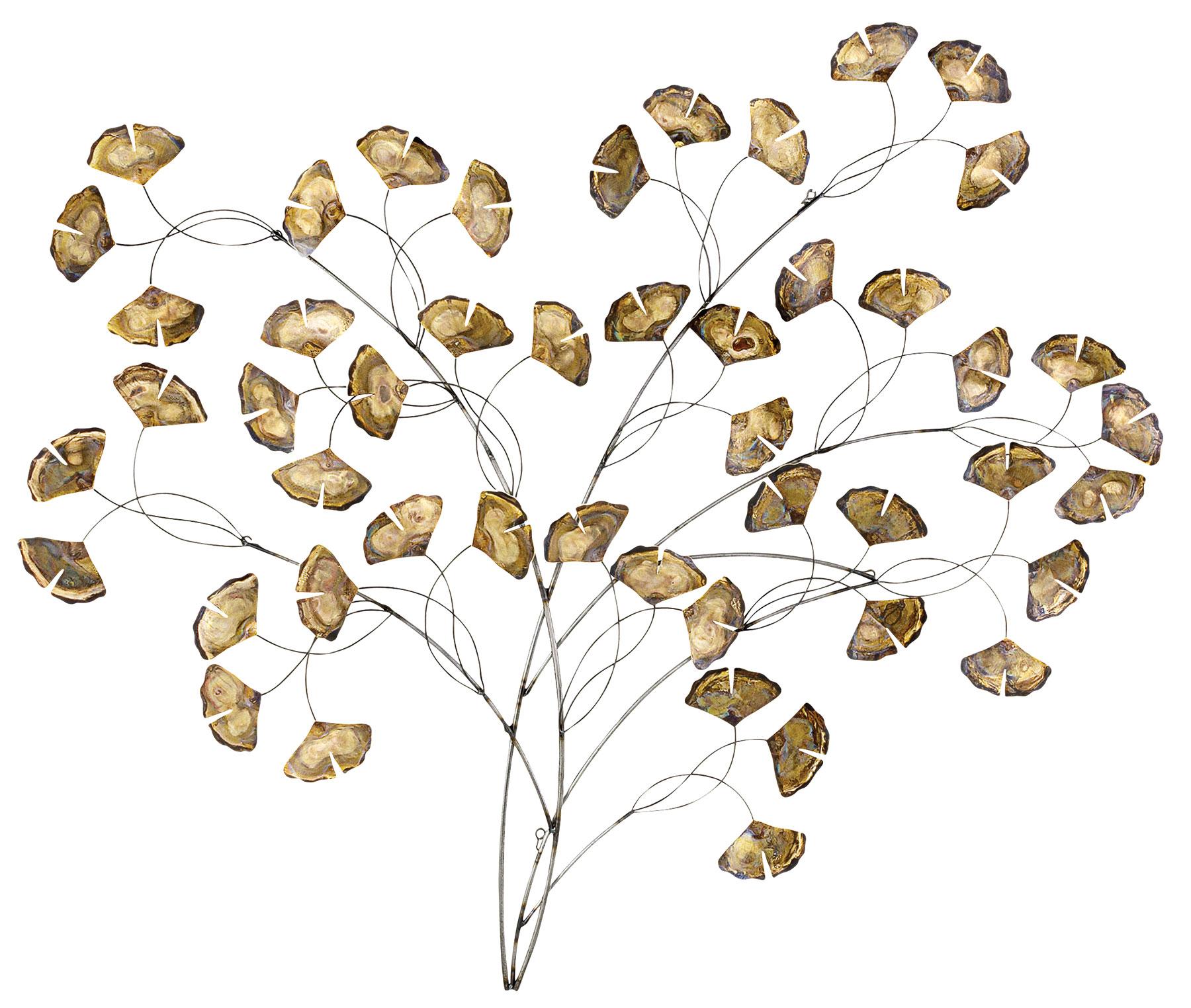 "Wandskulptur ""Ginkgo Tree"""