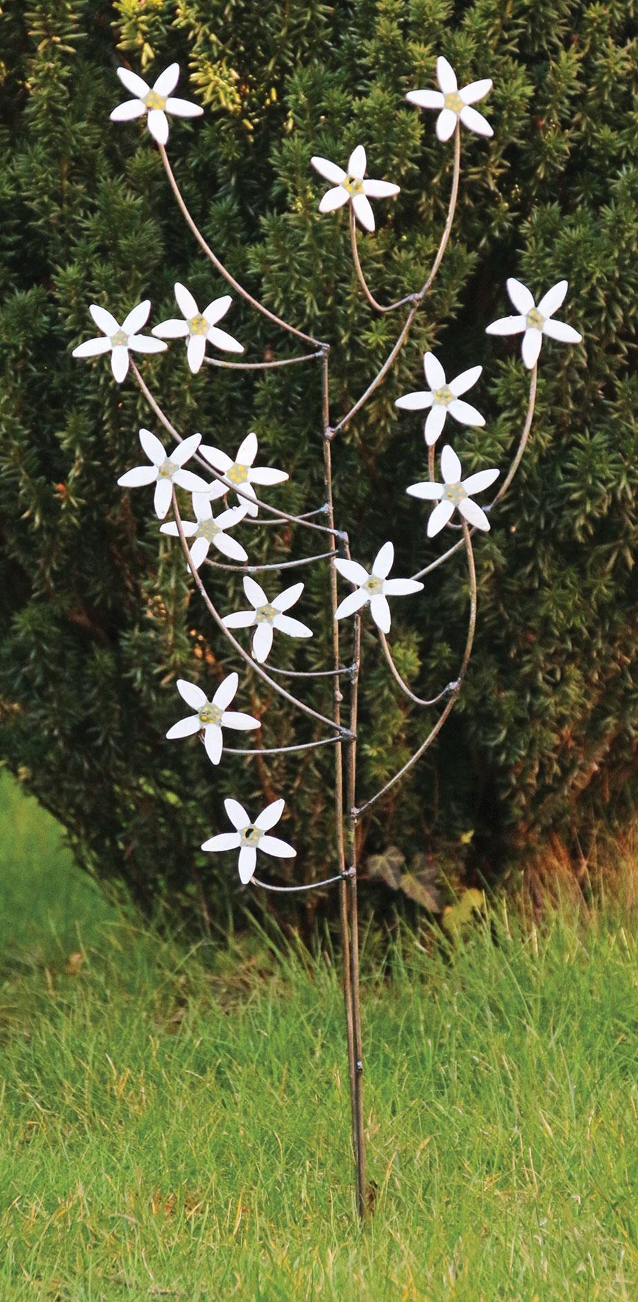 """Gartenstecker-Blumenset """"Jasmin"""", 3-teilig"""