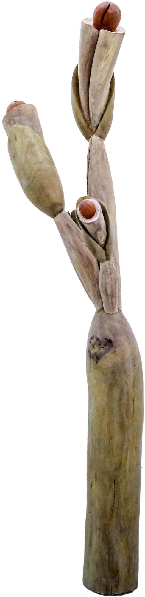 """Skulptur: """"Ferne Nähe - III"""" (2017) (Unikat), Holz"""