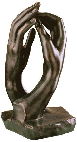 "Skulptur ""Die Kathedrale"" (1908), Version in Bronze"