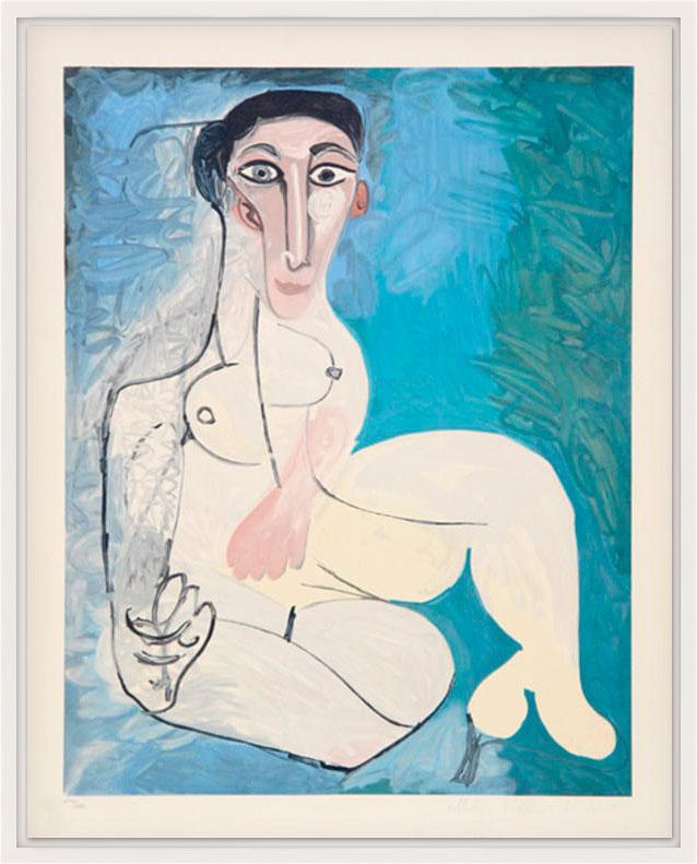 "Bild ""Femme nue Assise dans l'Herbe"" (1979-1982)"