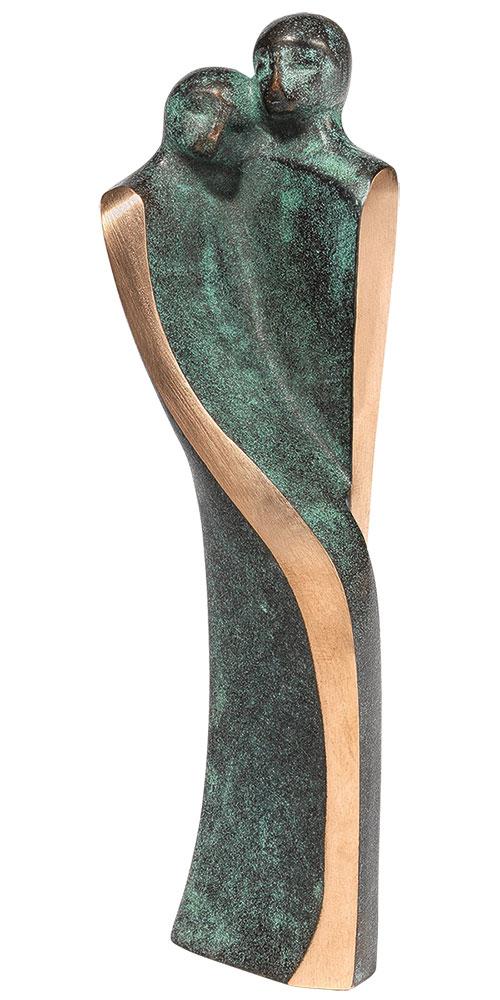 "Skulptur ""Zuneigung"", Bronze"