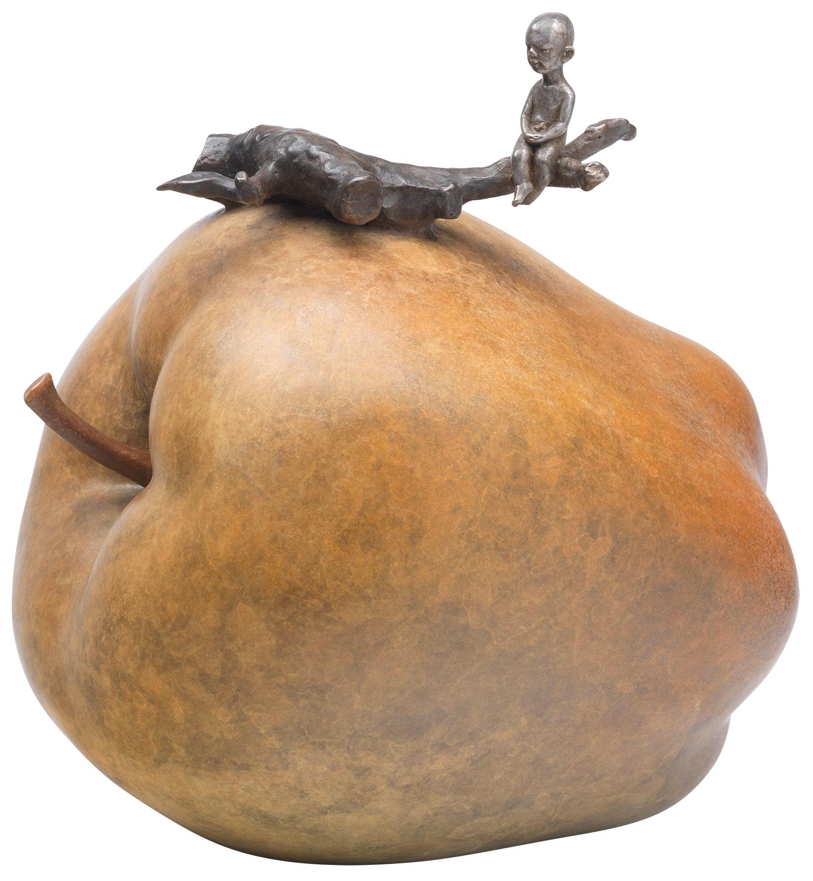 "Skulptur ""Heart at ease"" (2013), Bronze"