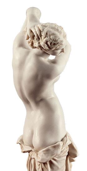 """Skulptur """"La Toilette de Venus"""" (1855), Kunstmarmor"""