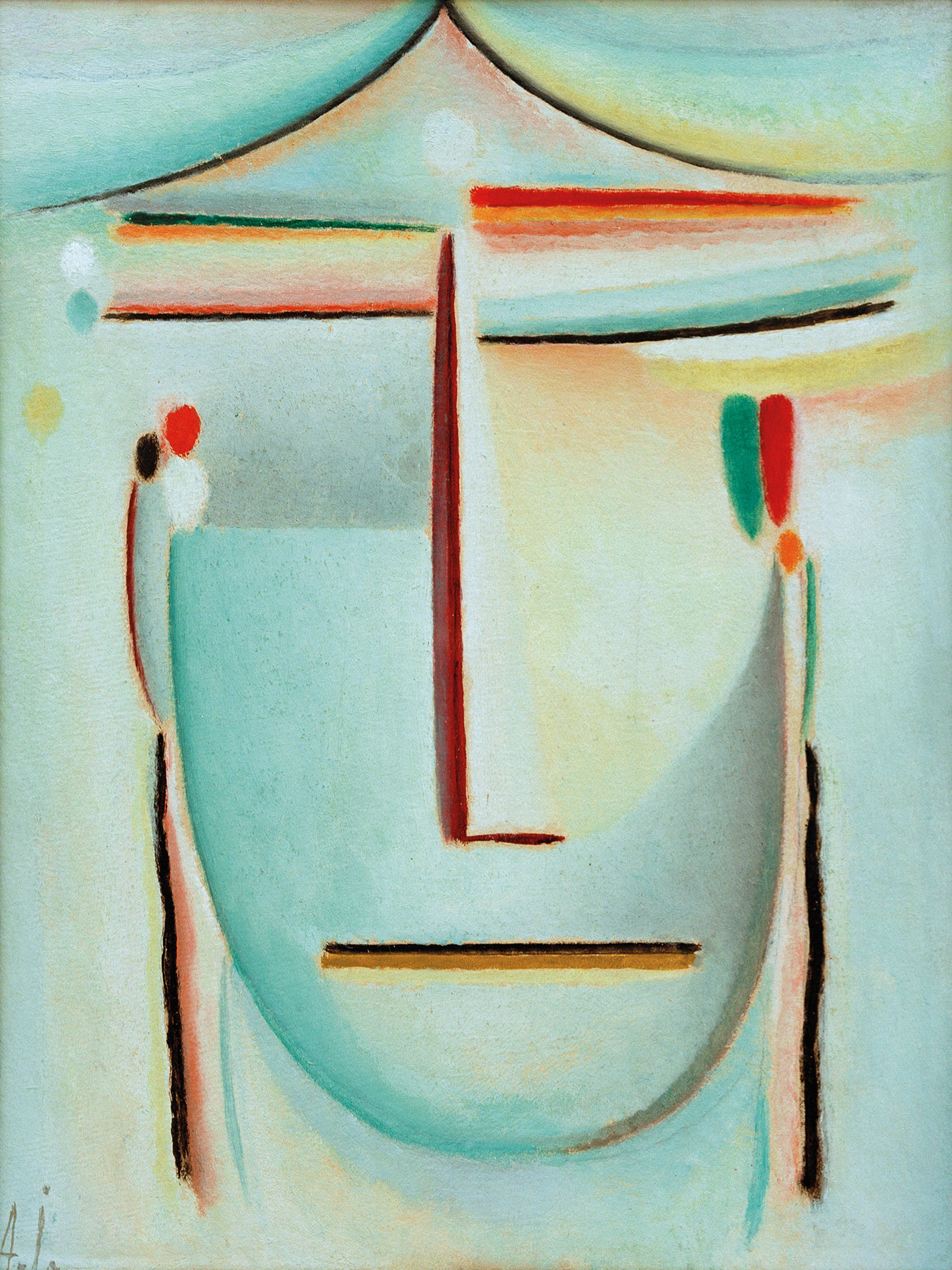 "Bild ""Abstrakter Kopf Aurora"" (1931)"