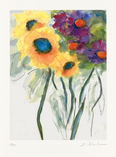 """Bild """"Sonnenblumen"""" (2014), ungerahmt"""