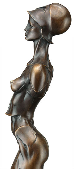 "Skulptur ""Amazone"", Bronze"