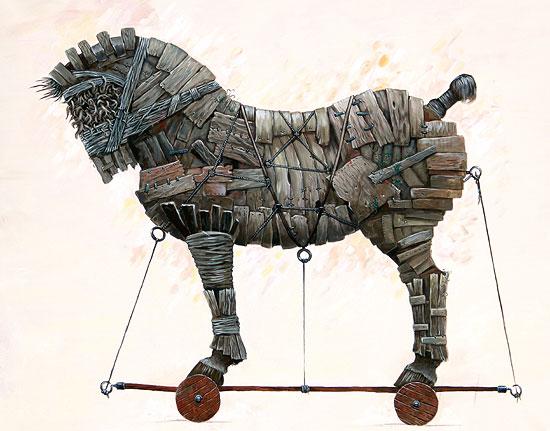 """Bild """"Trojan"""" (2008), ungerahmt"""