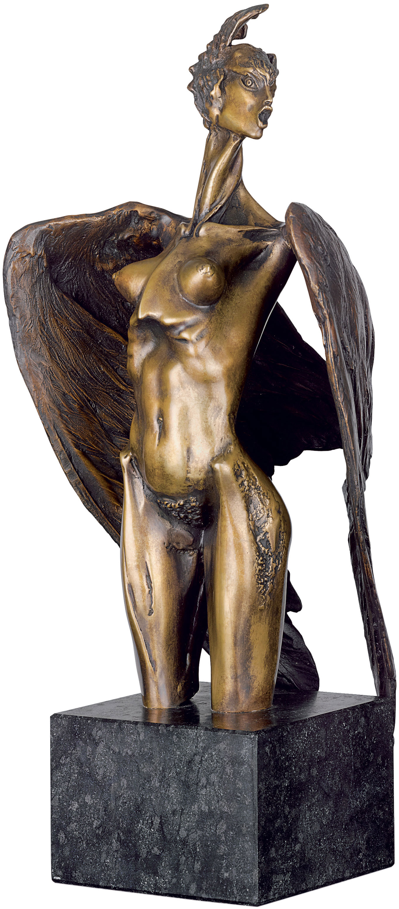 "Skulptur ""Sirene"", Bronze"