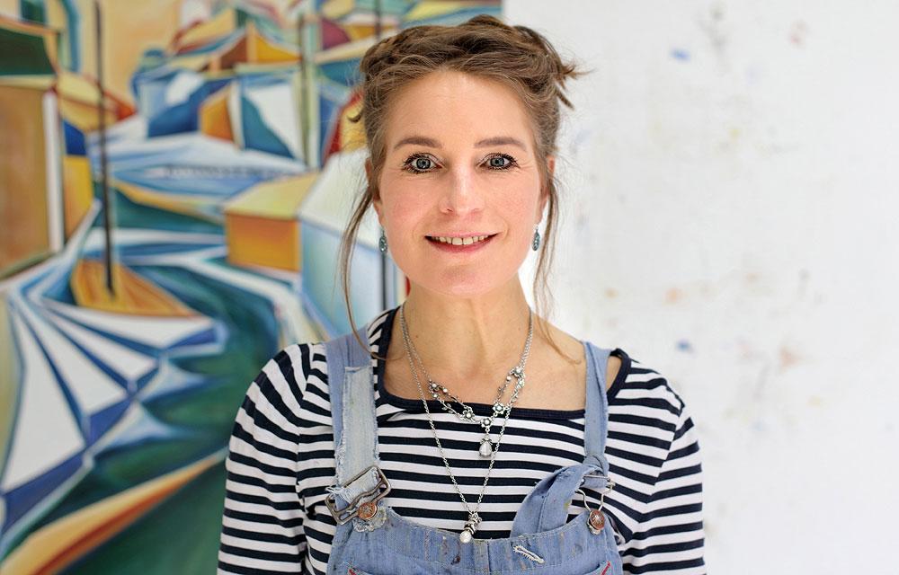 Porträt der Künstlerin Christin Lutze