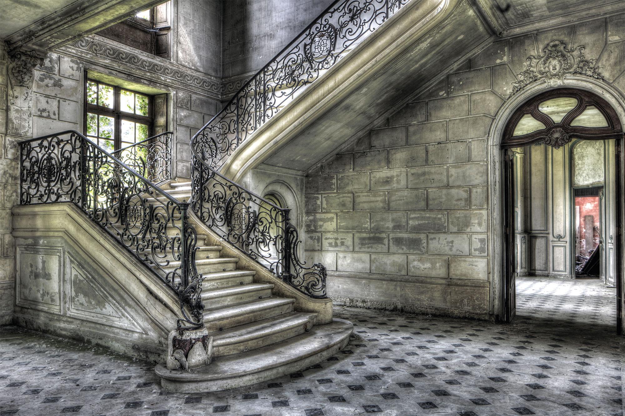 Olivier Lacour: Bild 'Treppe, links'