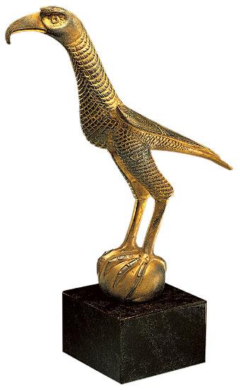 """Skulptur """"Der Kaiserfalke"""", Version in Bronze"""
