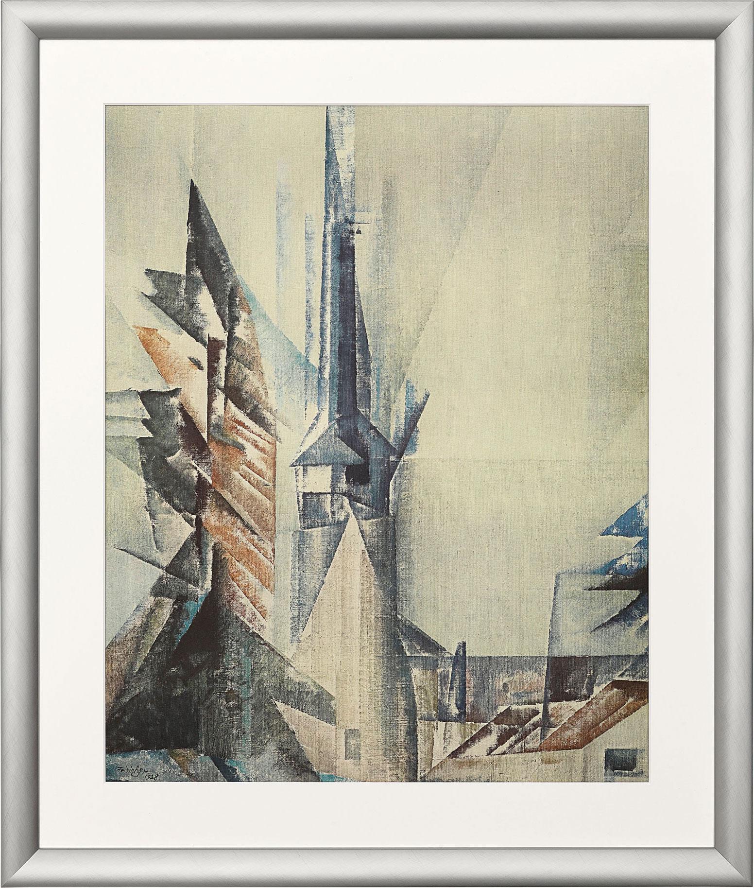 """Bild """"Gelmeroda XI"""" (1928), gerahmt"""