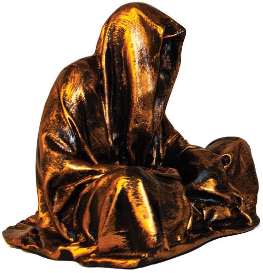 """Figur """"Guardians of Time - Mini Wächter"""", bronzelackierte Version"""