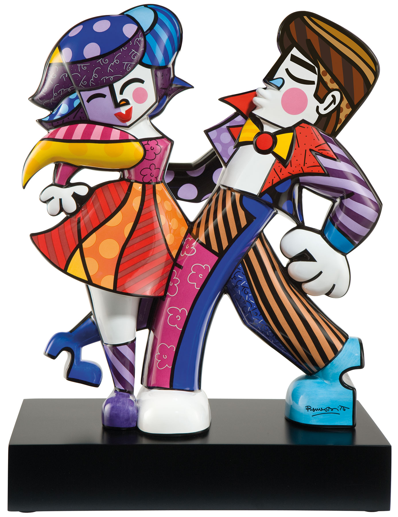 "Porzellanskulptur ""Swing"""