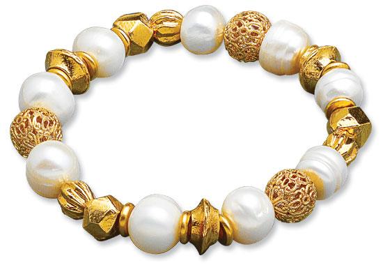"""Armband """"Perlen der Renaissance"""""""
