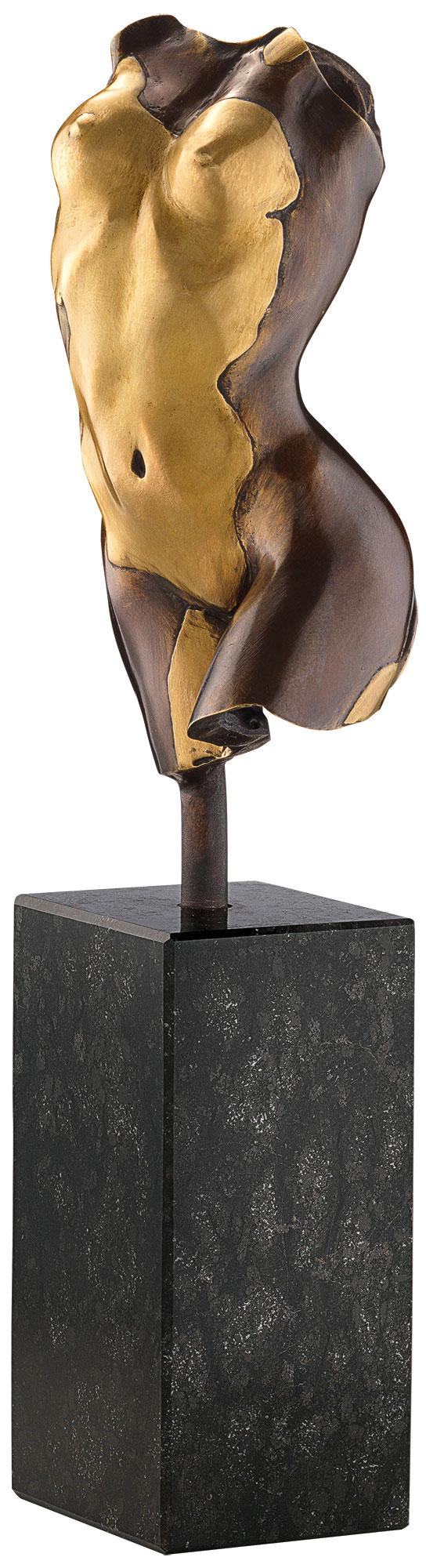 Kay: Skulptur 'Torso Giulia' (2017), Bronze