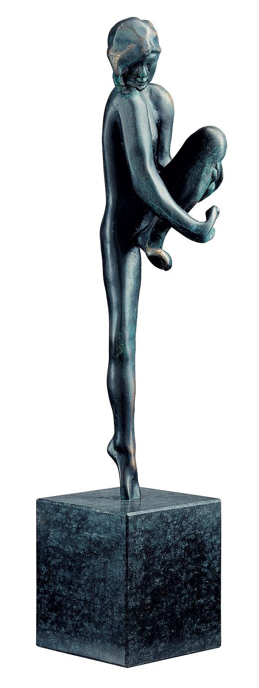 """Skulptur """"Tanzübung"""" (Esquisse de danse), Version in Bronze"""