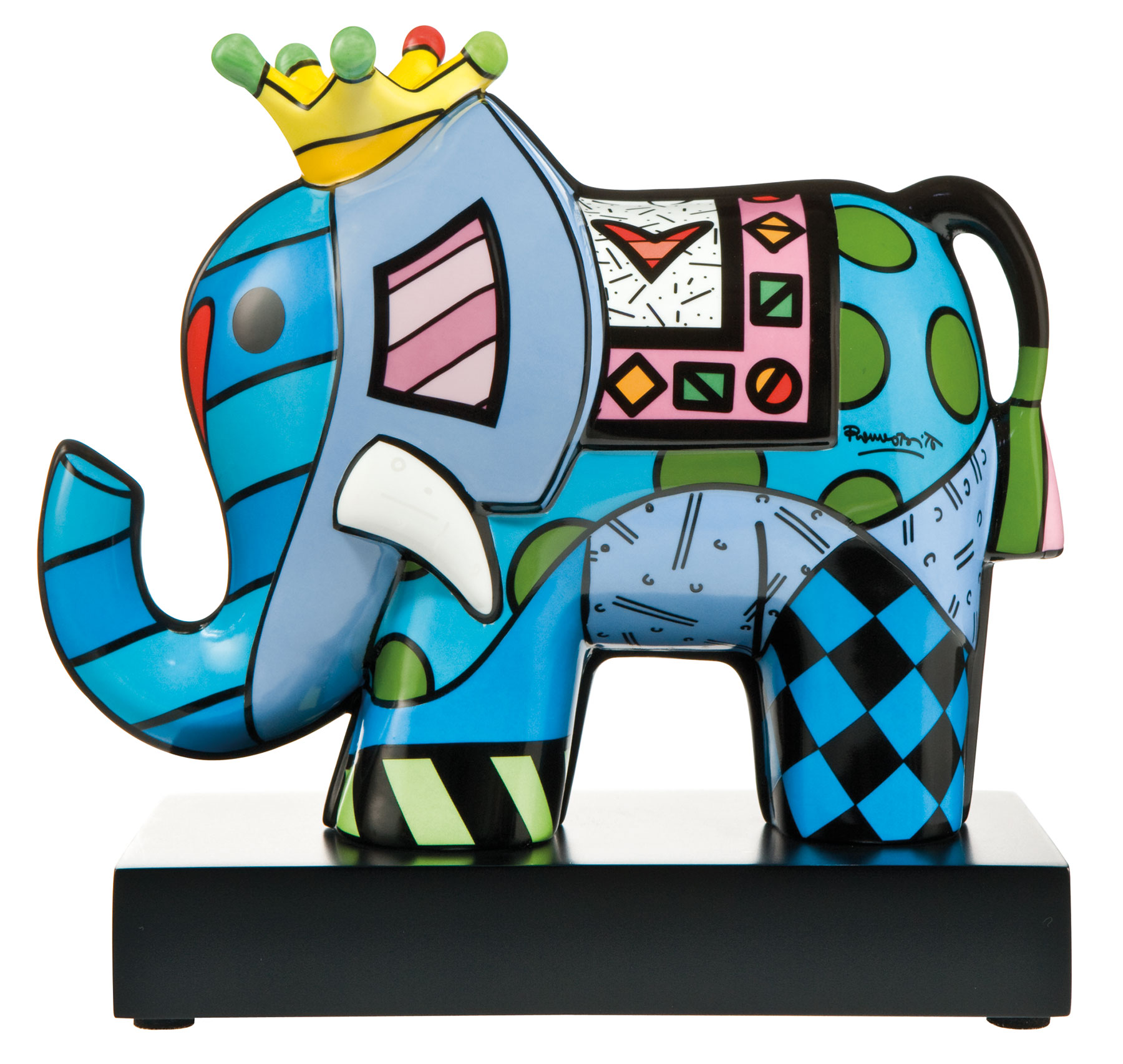"Porzellanskulptur ""Great India III"""