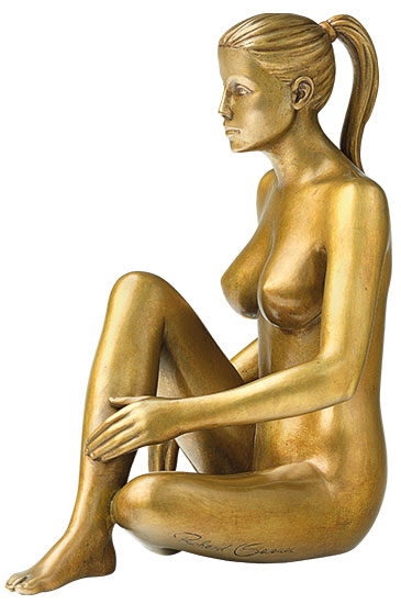 """Skulptur """"Anmut"""", Bronze"""