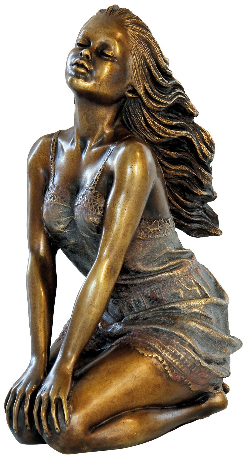 """Skulptur """"Laura"""", Bronze"""