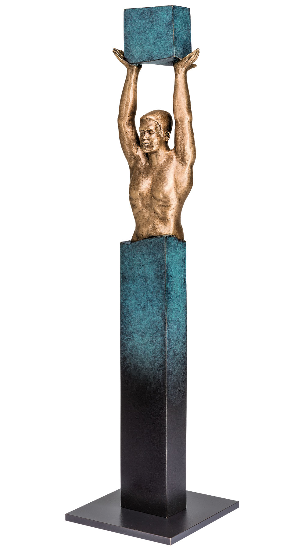 "Skulptur ""Yes I can"", Bronze"